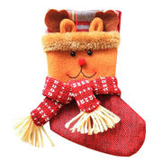China Santa Claus sock gift bag