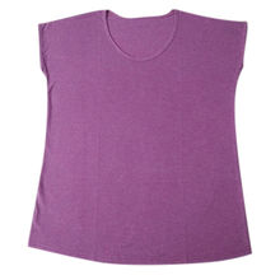 India Women's Round Neck T-shirt, Made of Organic Cotton