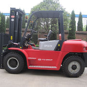 China Forklift, 7 Ton YTO Hydraulic Forklift CPCD70
