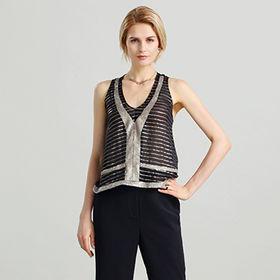 China Las camisas de las mujeres hechas de la seda del 75%, el 25% pl