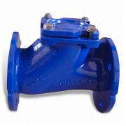 China Din PN16 Ductile Iron Resilient Sealing Ball Check Valve with 16kg/cm² Working Pressure