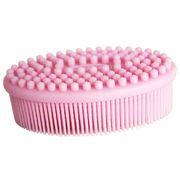 China Soft silicone bath brush for body