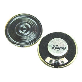 26mm Neodymium Mylar Speaker with 8 Ω Impedance from Wealthland (Audio) Limited