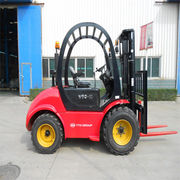 3-ton CPCD30 diesel forklift, rough terrain forklift