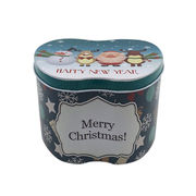 China Fashionable Candy Tin Box for Wedding Gifts
