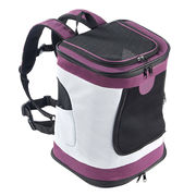 China Foldable Cat Dog Backpack Carrier with Adjustable Padded Shoulder, Chest & Waist Strap