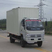 China 108HP 5-ton 4x2 van truck