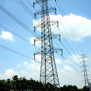 China Power Transmission Tower, Qualified Member of Chinese State Grid from 2009, Can Supply Steel Poles