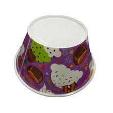 Pp ice-cream bowl plastic bowl IML printing