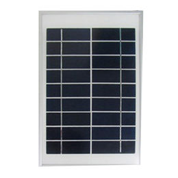 9V5W mono solar panel using ALU frame and wire output,can use to charge mobile phone directly from Sopray Solar Group Co. Ltd