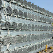 Hot dip galvanized steel pipe zinc coated above 200g/m²