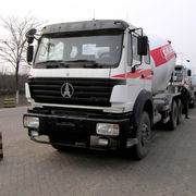 China Concrete Mixer Truck