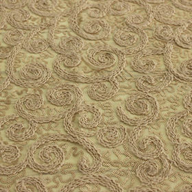 China Sequin woolen fabric