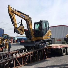6-ton Mini Excavator with Hammer from Oriemac Machinery & Equipment (Shanghai) Co., Ltd.
