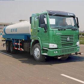 China Water Storage Tanker Truck