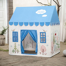 China Indoor or outdoor children's pretend playhouse, cottage tent house for kids W08L001