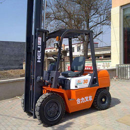 Heli 2.5ton Forklift Truck, CPCD25 Diesel Forklift from Evangel Industrial (Shanghai) Co., Ltd.