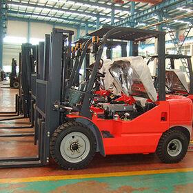 New Diesel Forklift, 4-ton YTO Brand CPCD40, Hot Sale from Evangel Industrial (Shanghai) Co., Ltd.