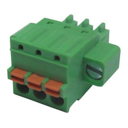 China 3.5 screw-less plugs with screw flange