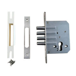 Hong Kong SAR Mortise lock with 4 cylindrical steel deadbolts