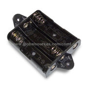 Taiwan Regular Battery Holder for Three AA or UM3 Batteries, OEM Orders are Welcome