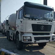 Camion F2000/6x4/8x4 Concrete Mixer Truck for Shacman from Oriemac Machinery & Equipment (Shanghai) Co., Ltd.