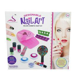 China Nail art, cosmetic with nail dryer kits