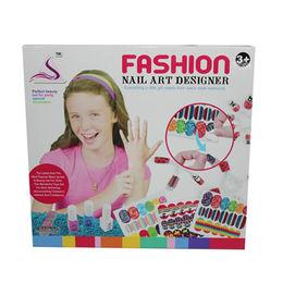 China Girl nail arts, cosmetic with nail dryer kits