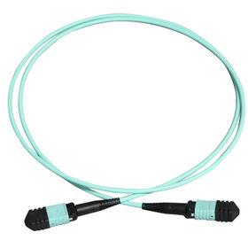 China MTP-MTP OM4 550 12 core optic patch cord