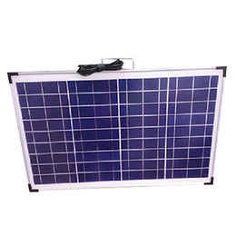 Portable solar panel for camping Poly 50W solar panel