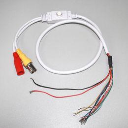 China OEM customized CCTV camera OSD BNC DC menu control cable