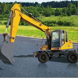 Excavator for XCMG, 15.3-ton, XE150W Wheel Excavator from Oriemac Machinery & Equipment (Shanghai) Co., Ltd.