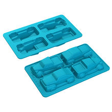 China Truck Cars Shape Silicone Jello Chocolate Pudding Baking Mould Cake Baking Mold Muffin Cups