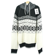 Ladies round neck Twisted flower knitted pullover Hangzhou Willing Textile Co. Ltd