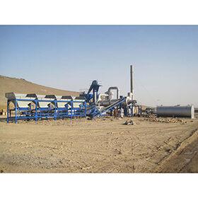 Roady 60t/h asphalt concrete batching plant