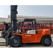 New 10 ton diesel forklift for Heli, from China from Evangel Industrial (Shanghai) Co., Ltd.