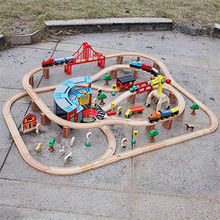 China Kid's Wooden Toy Train