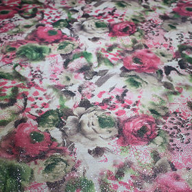 Sequin printing fabric