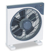 China 3-speed Desk Fan, with 66 x 12mm Copper Motor and Two Round Pin Plug