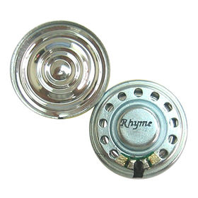 Hong Kong SAR 27mm Neodymium Mylar Speaker with 8 Ω Impedance,