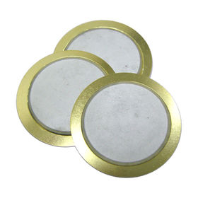 30 mm dia Piezo Ceramic Buzzer with 3.4 kHz resonant frequency from Wealthland (Audio) Limited
