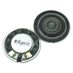 20mm Neodymium Mylar Speaker with 8 Ω Impedance from Wealthland (Audio) Limited