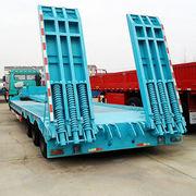 China Tri-axle low bed semi-trailer