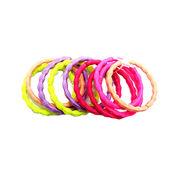 Wholesale 3MM Colorful Nylon Little Beans Elastic Rope Ring, 3MM Colorful Nylon Little Beans Elastic Rope Ring Wholesalers