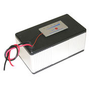 Polymer Li-Ion Box Battery with fuel gauge: 18.5V 5.0Ah (92.5 Wh, 7.0A rate) in Aluminium Enclosure from Dongguan Victory Battery Technology Co., Ltd.
