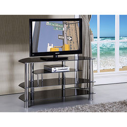 Corner used living room furniture TV stand table from Langfang Peiyao Trading Co.,Ltd