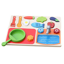 china new design preschool play food wooden toy