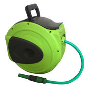China 30m Garden Hose Reel in New Compact Design, Auto-retractable, Made of PP and PVC