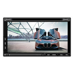China 2 Din Car DVD Player with Mirror Link Function