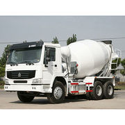 China 20CBM 6x4 self-loading concrete mixer truck